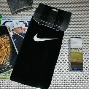 Nike Embroidered Golf Towel....NWT